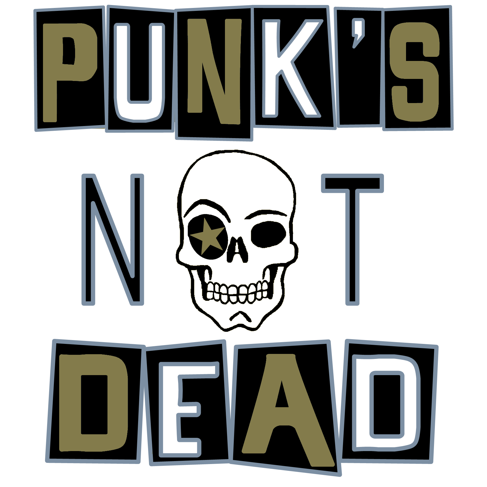 logo punk's not dead