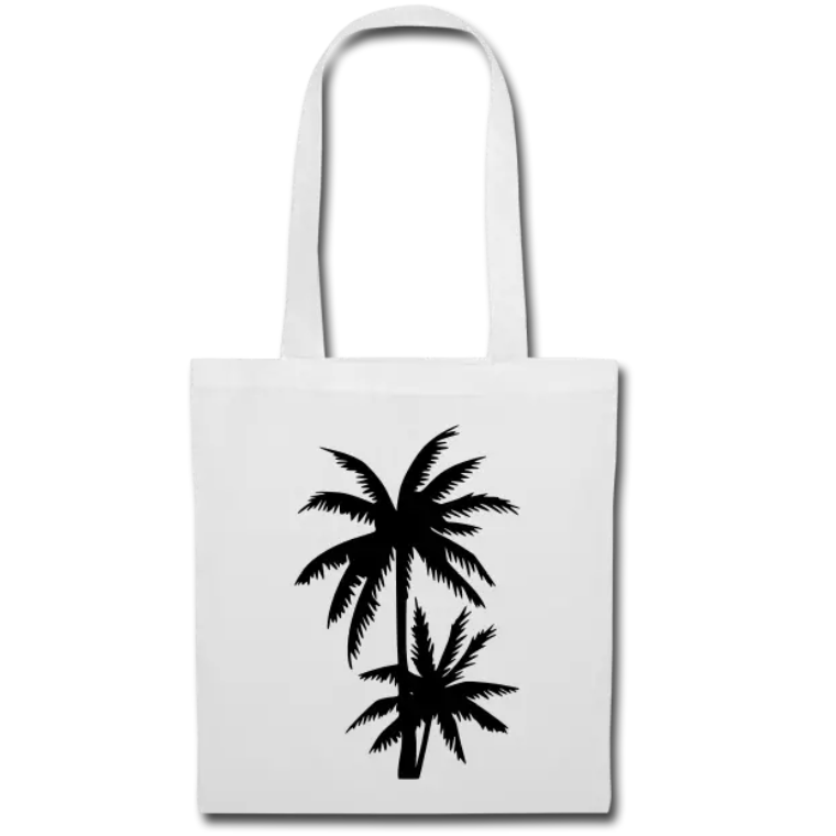 tote bag PALM TREES